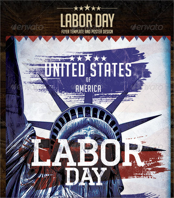 12  labour day flyer templates