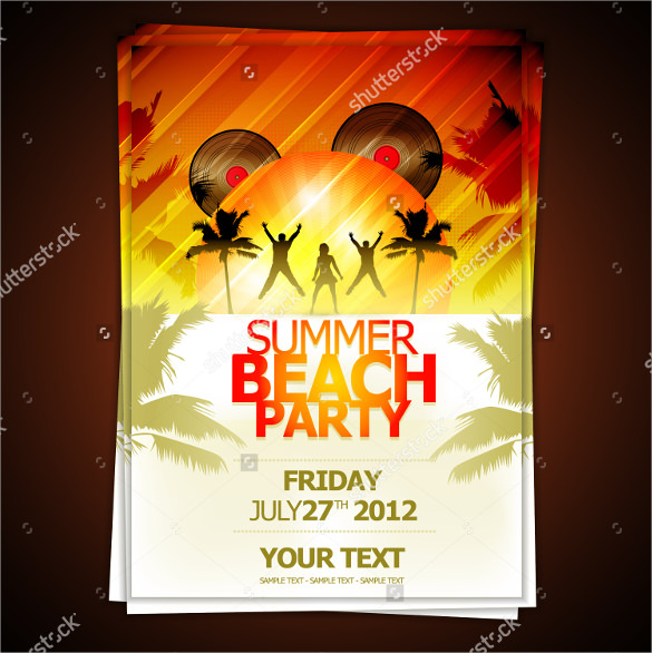 summer flyer templates download