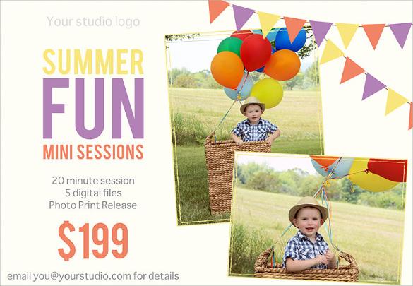 amazing summer flyer templates download1