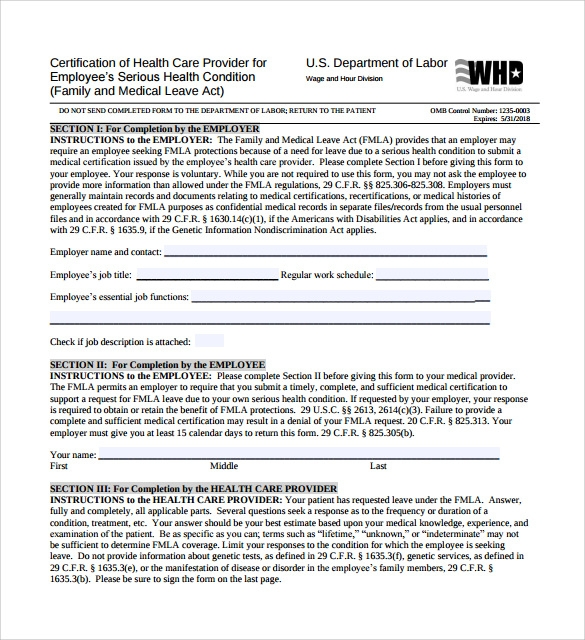 printable medical leave form