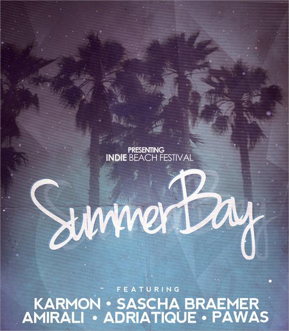 creative summer flyer templates download