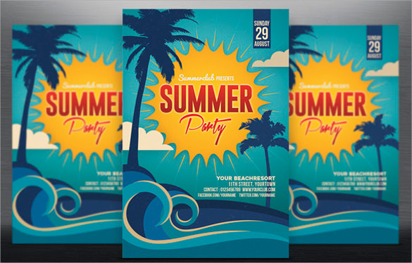 amazing spring flyer template download