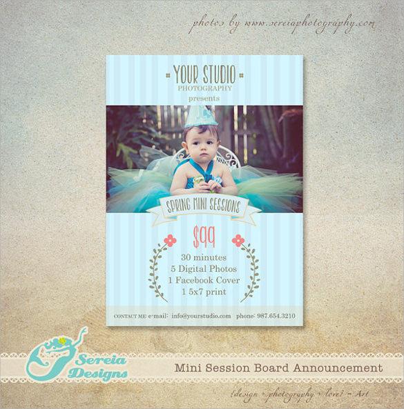 spectacular spring flyer template download