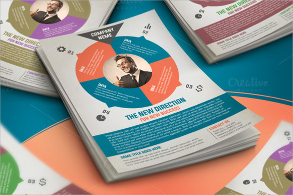 clean corporate flyer template free download