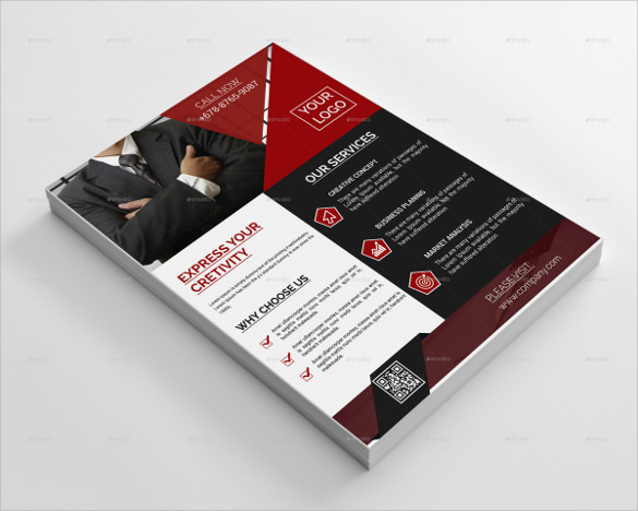 corporate flyer template bundle