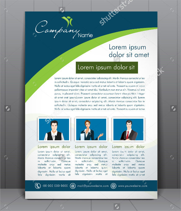 fabulous corporate flyer template download