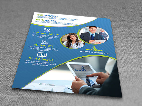 dazzling corporate flyer template download