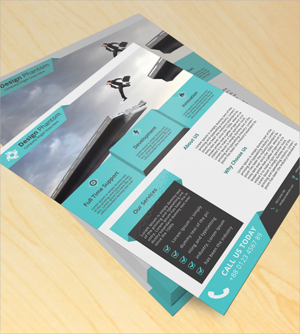 amazing corporate flyer template download