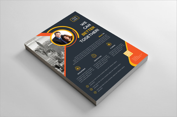 wonderful corporate flyer template download