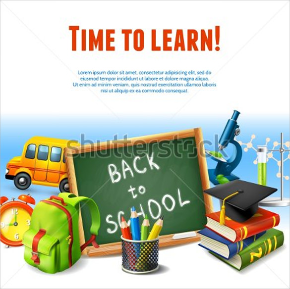 amazing back to school flyer templates