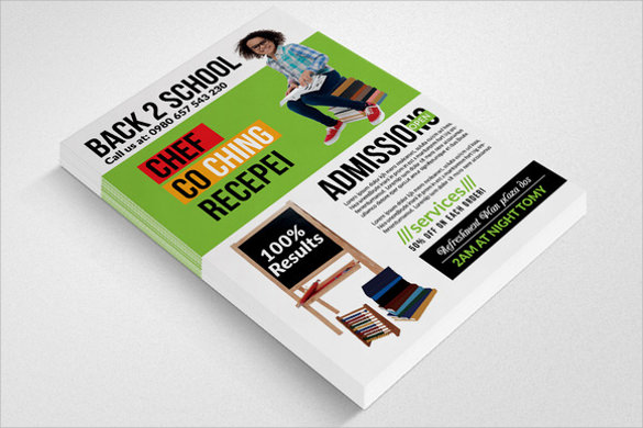 beautiful back to school flyer templates