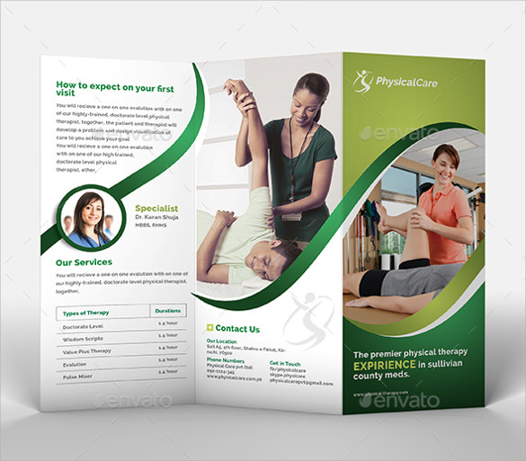 health brochure template - 20 health brochures sample templates