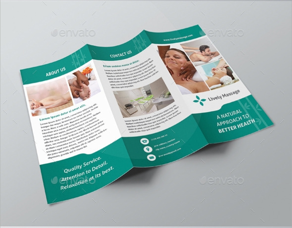 health massage brochure