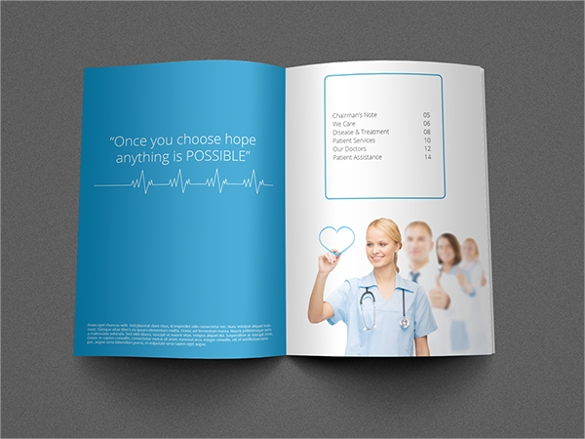 example of health brochure