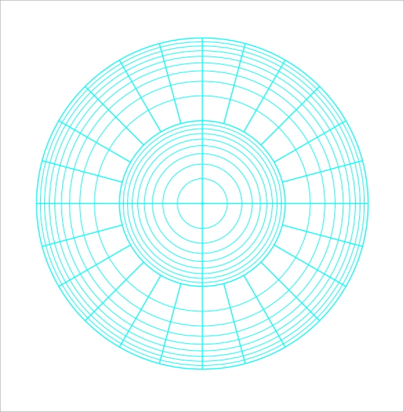 sample polar graph paper