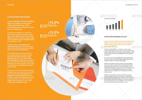 corporate annual report brochure download