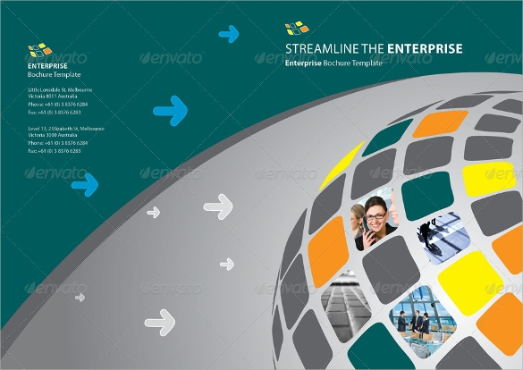 enterprise annual report brochure