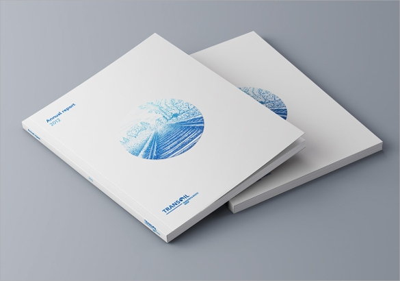 good annual report brochure download