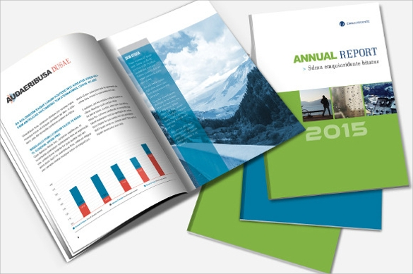 awesome annual report brochure download