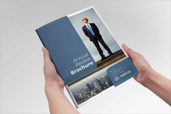 annual report reviev brochure download