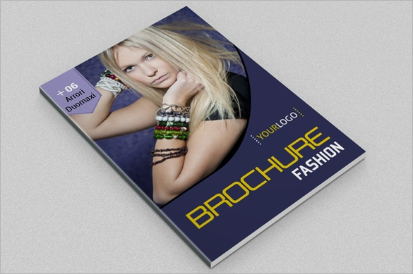 16 Fashion Design Brochures Vector EPS PSD – Fashion Design Brochure Template