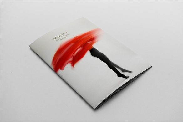 beautiful fashion design brochure template