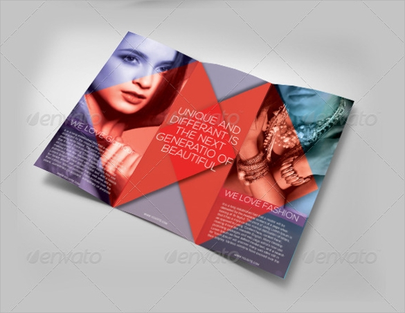 Fashion Design Brochures  Vector Eps Psd