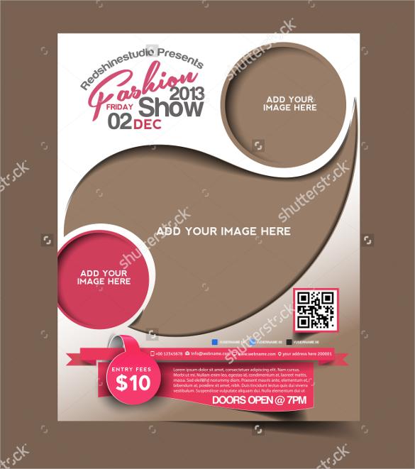 best fashion design brochure template