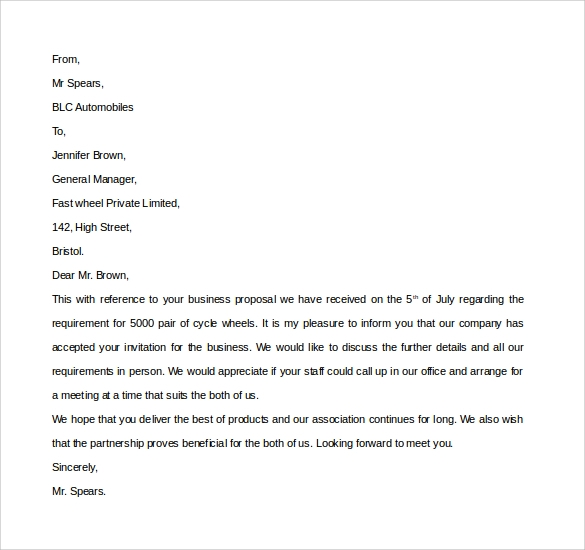 Sample Business Invitation Letter 9 Download Free Documents in – Business Invitation Template