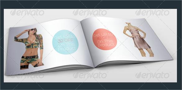 fashion catalog in design templates