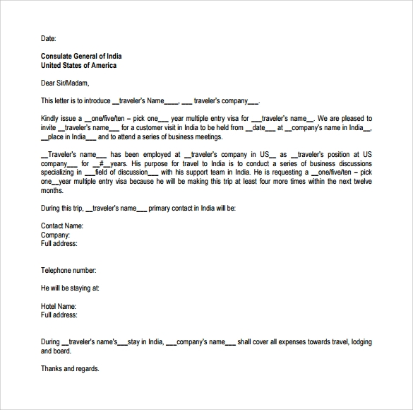Sample Business Invitation Letter 9 Download Free Documents in – Invitation Letter