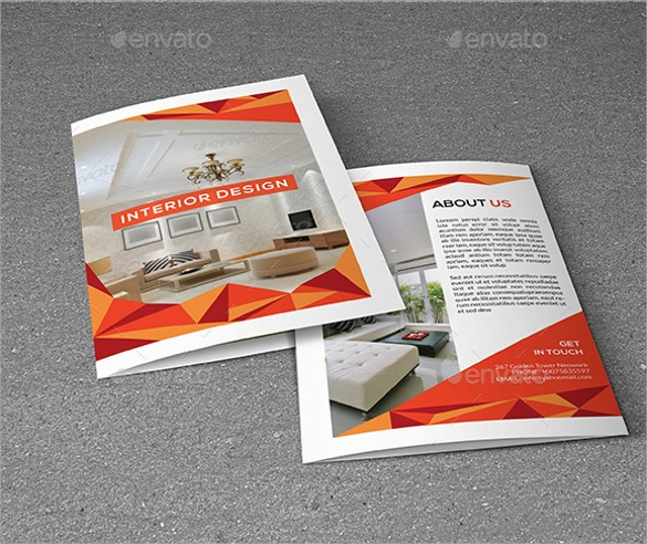 interior design brochure template indesign indd download