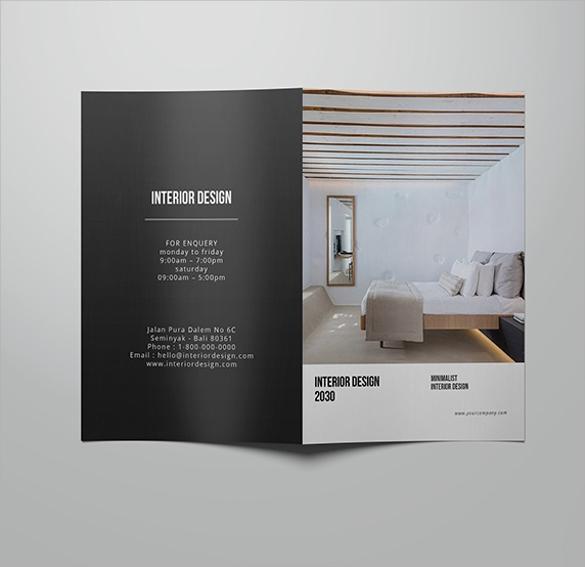 Interior Design Brochure Great Home Inteiror