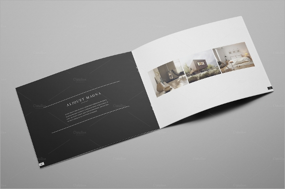 dazzling interior design brochure template download