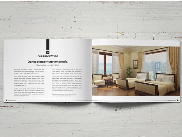awesome interior design brochure template