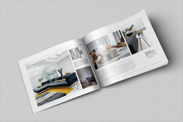 fantastic interior design brochure template