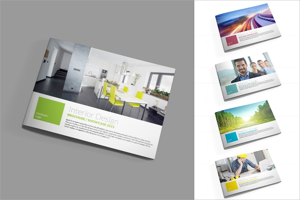 wondrous interior design brochure template