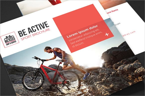 20 Sports Brochures Vector EPS PSD – Sports Brochure