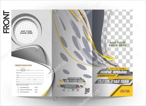 20 sports brochures sample templates for Sports brochure templates