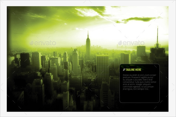 landscape brochure indesign indd download
