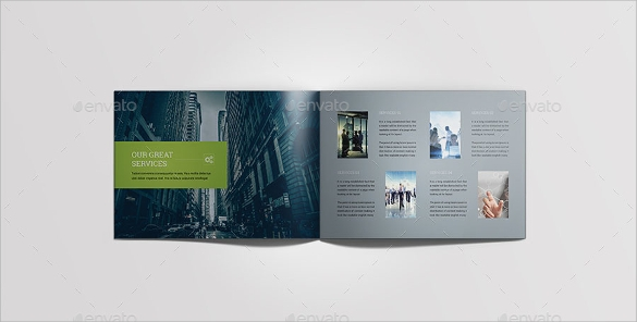 creative landscape brochure download