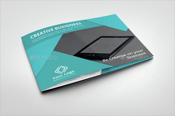 landscape corporate brochure template