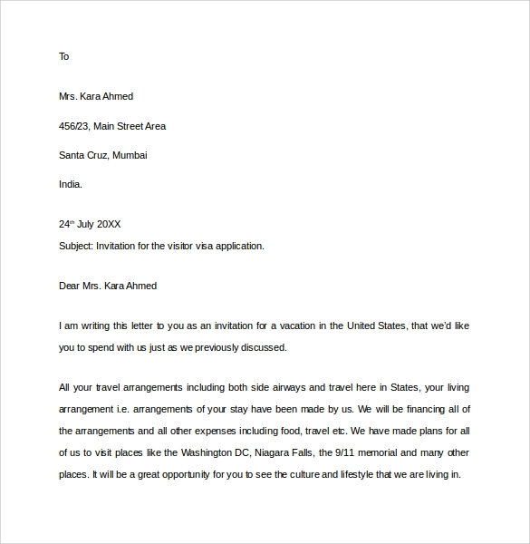 invitation essay