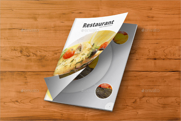 restaurant brochure indd format download