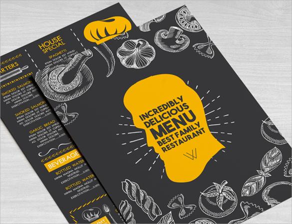 amazing restaurant brochure download