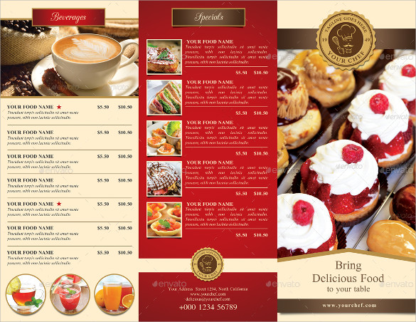 21+ Restaurant Brochures - Vector Eps, Psd