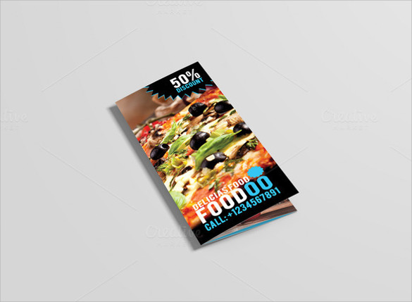 awesome restaurant brochure download