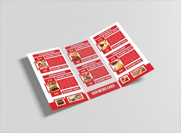 dazzling restaurant brochure download