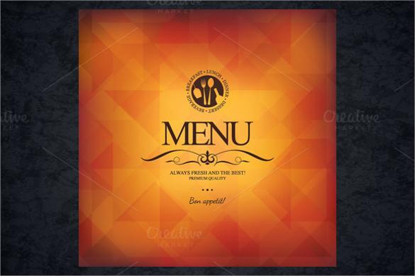 fantastic restaurant brochure download