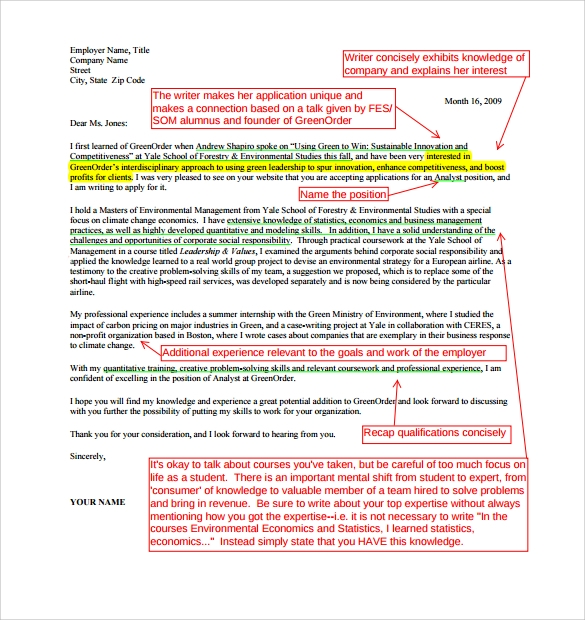 Sample Consulting Cover Letter - 9+ Download Free Documents in PDF ...